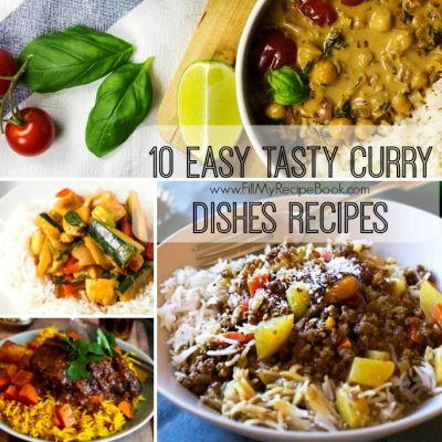 10 Easy Tasty Curry Dishes Recipes