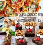10 Quick Snacks for Christmas Parties