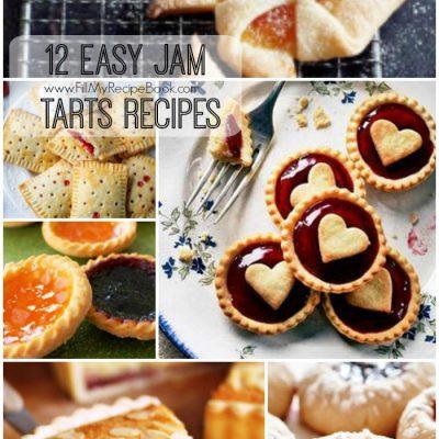 12 Easy Jam Tarts Recipes