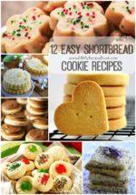 12 Easy Shortbread Cookie Recipes