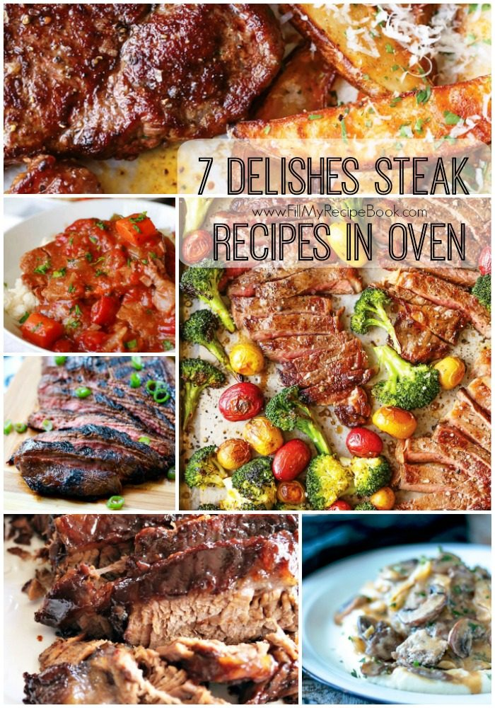 7 Delishes Steak Recipes In Oven Fill My Recipe Book