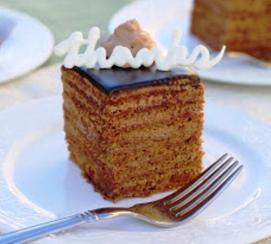Cardamom White Chocolate Cake