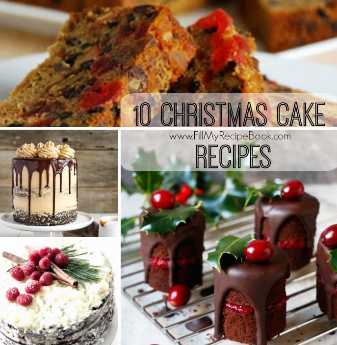 Nut Free Christmas Fruit Cake Recipe