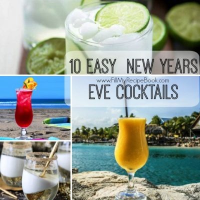 10 Easy  New Years Eve Cocktails