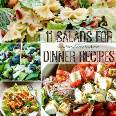 11 Salads for Dinner Recipes