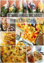 12 Make Ahead Breakfast Freezer Recipes