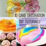 10 Cake Decoration DIY Tutorials
