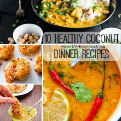 10 Healthy Coconut Dinner Recipes