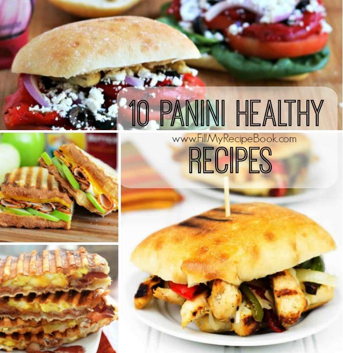 10 panini healthy recipes fill my recipe book 10 panini healthy recipes forumfinder Images