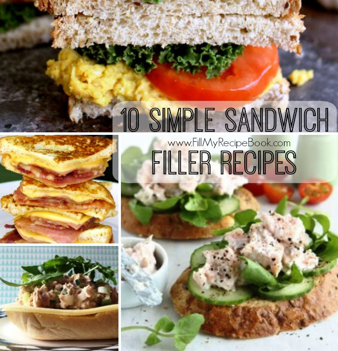 10 simple sandwich filler recipes fill my recipe book 10 simple sandwich filler recipes that can be made from leftover meats or spruced up tuna and chicken mayo salads for sandwiches enjoy forumfinder Images