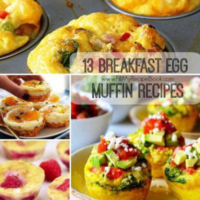 13 Breakfast Egg Muffin Recipes