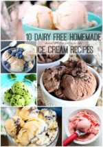 10 Dairy Free Homemade Ice Cream Recipes