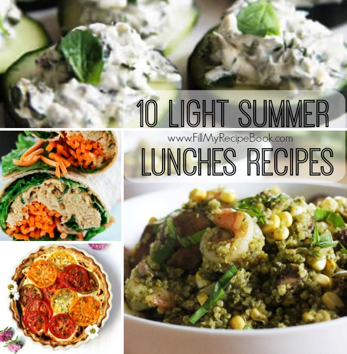 10 light summer lunches recipes fill my recipe book. Black Bedroom Furniture Sets. Home Design Ideas