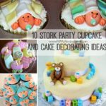 10 Stork Party Cupcake and Cake Decorating Ideas