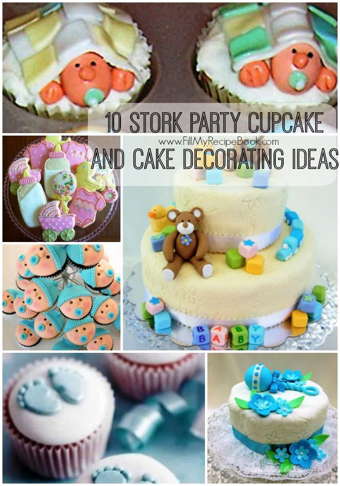 Get the BOOK!  sc 1 st  Fill My Recipe Book & 10 Stork Party Cupcake and Cake Decorating Ideas - Fill My Recipe Book