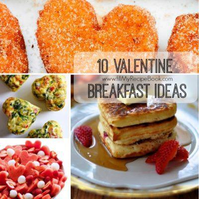 10 Valentine Breakfast Ideas