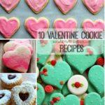 10 Valentine Cookie Recipes