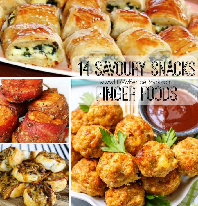 14 savoury snacks finger foods fill my recipe book forumfinder Images