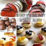 10 Easy Bite Size Party Desserts  Recipes