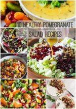 10 Healthy Pomegranate Salad Recipes