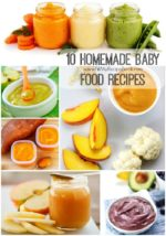 10 Homemade Baby food recipes
