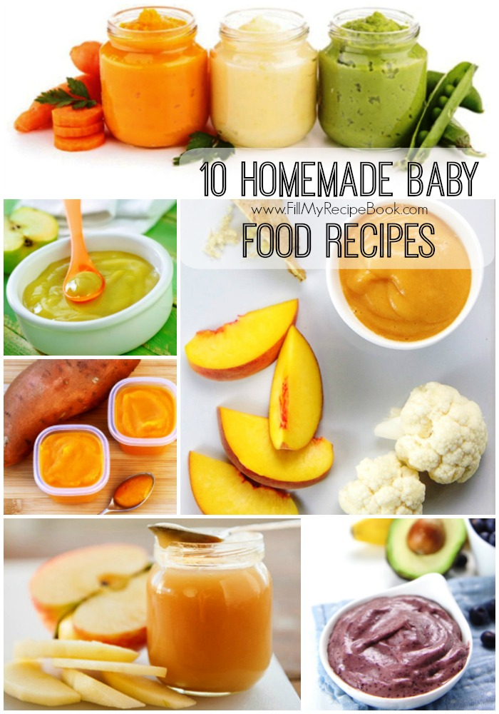 10 Homemade Baby Food Recipes Fill My Recipe Book