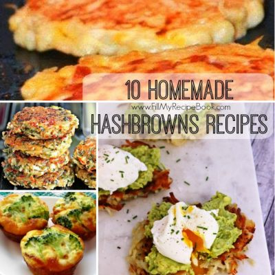 10 Homemade Hashbrowns Recipes