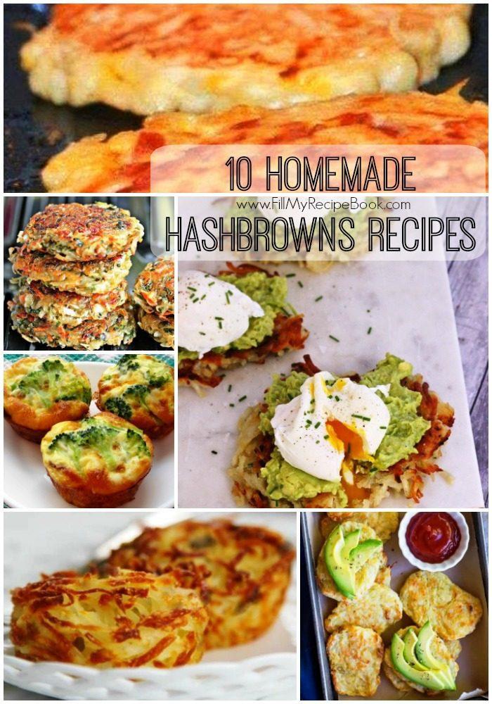 how to make homemade hash brown patties