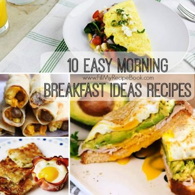 10 Easy Morning Breakfast Ideas Recipes