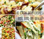 10 Easy Side Dishes for BBQ or Braai