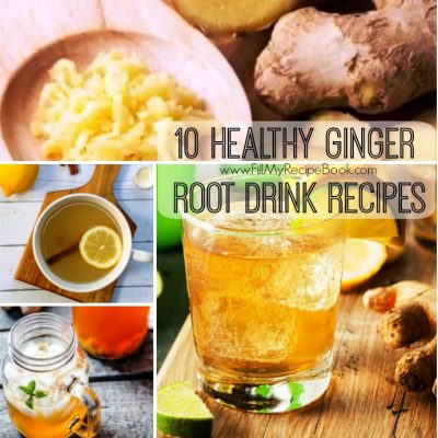 10 Healthy Ginger Root Drink Recipes