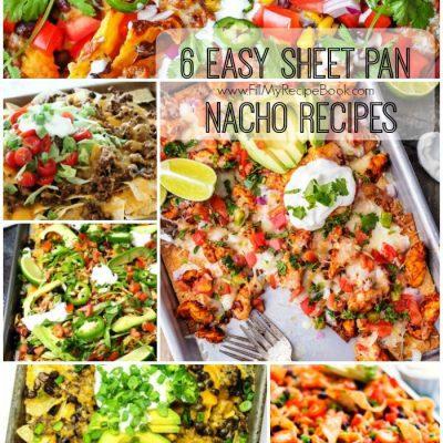 6 Easy Sheet Pan Nacho Recipes