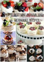 10 Best Mini Pavlova and Meringues Recipes