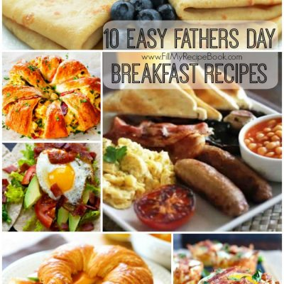 10 Easy Fathers Day Breakfast Recipes