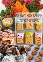 10 Easy Rice Krispie Treats Recipes