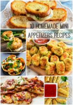 10 Homemade Mini Appetizers Recipes