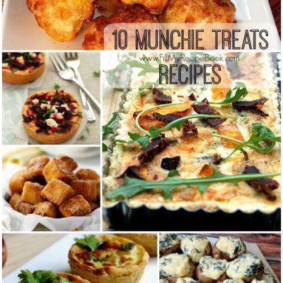 10 Munchie Treats Recipes