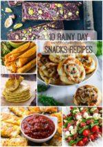 10 Rainy Day Snacks Recipes
