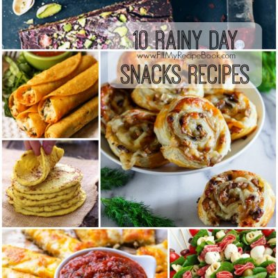 10 Rainy Day Snacks Recipes
