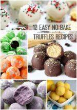 12 Easy no bake Truffles Recipes