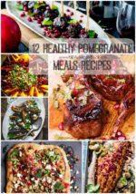 12 Healthy Pomegranate Meals Recipes