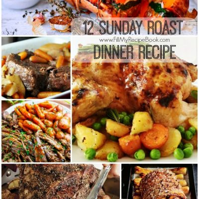 12 Sunday Roast Dinner Recipe
