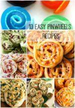 10 Easy PinWheels Recipes
