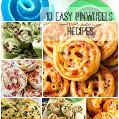 10 Easy PinWheels Recipes