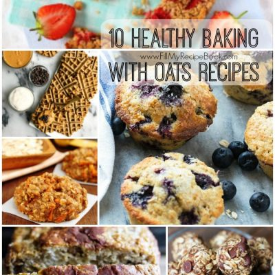 10 Healthy Baking with Oats Recipes