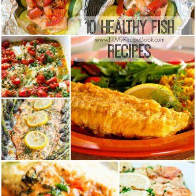 10 Healthy Fish Recipes
