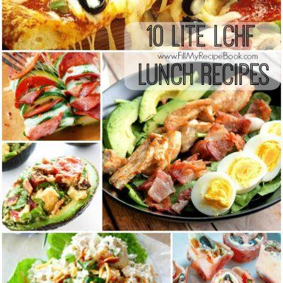 10 Lite LCHF Lunch Recipes