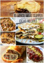 10 Mince Meat Supper Ideas Recipes