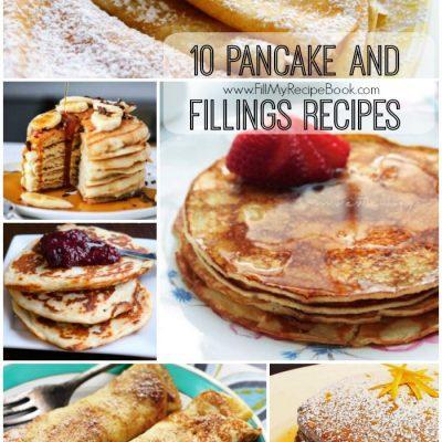 10 Pancake and Fillings Recipes