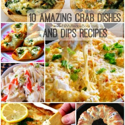 10 Amazing Crab Dishes and Dips Recipes